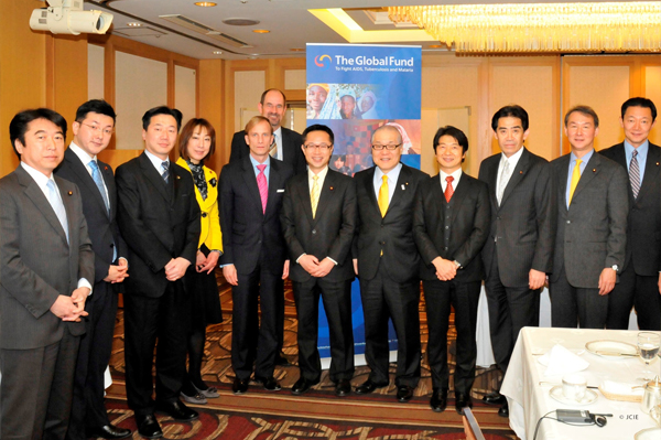 FGFJ Diet Task Force members meet with Global Fund representatives
