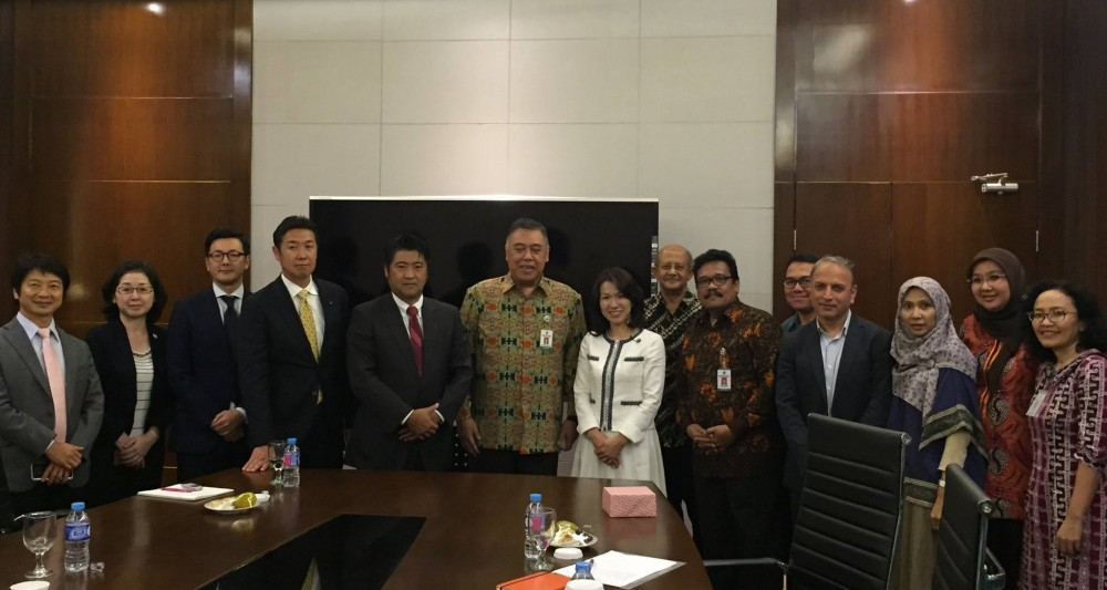 Meeting and discussion with Dr. Untung Suseno Sutarjo, Secretary General, Ministry of Health