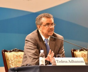 Dr. Tedros at UHC Conference in Tokyo